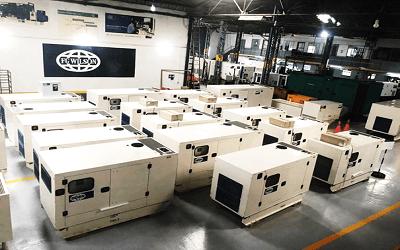 Nouveaux groupes électrogènes FG Wilson en stock arrivés en Août 2019