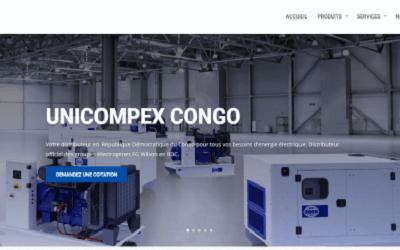 Mise en ligne du nouveau site Unicompex Congo